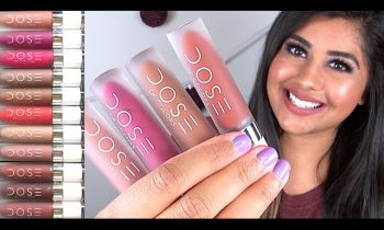 DOSE OF COLORS Liquid Lipsticks ♥ Lip Swatches & Review!
