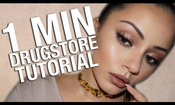 1 MINUTE DRUGSTORE MAKEUP TUTORIAL