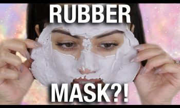 OMG 😱 WEIRD RUBBER FACE MASK?!