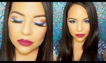 Colorful Eyeliner ! Summer & Spring Makeup Tutorial !