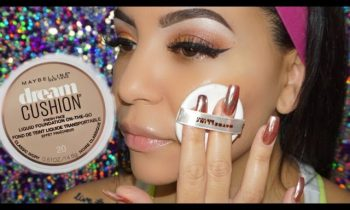 Foundation Friday  ! New Maybelline Dream Cushion foundation review !