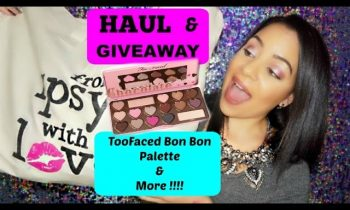 Generation Beauty Haul ! GIVEAWAY !!!!