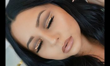 Glitter Liner Cut Crease Makeup Tutorial