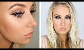 Gold Glam Winged Liner & Bronzed Skin Tutorial!