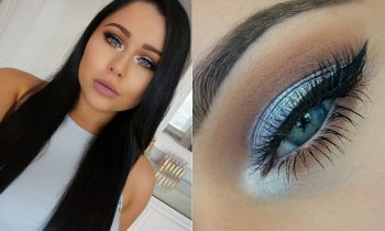 Ice Blue Makeup Tutorial – Mostly Drugstore