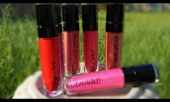 NEW Summer 2016 Makeup | Wet N Wild Metallic liquid lipstick | Swatches