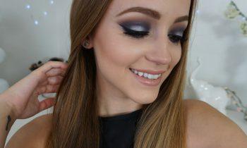 Navy Blue & Silver Smokey Eye | Makeup Tutorial