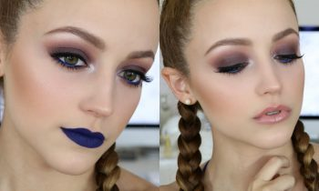 Pop of BLUE | Makeup Tutorial + 2 Lip Options!