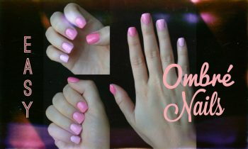Simple Ombre Nails Using Only Two Colors!