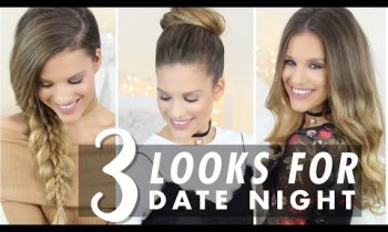 Date Night: 3 Hairstyle and #OOTD Ideas