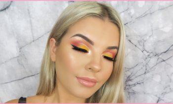 Sunset Eye Makeup Tutorial ♡ Jasmine Hand