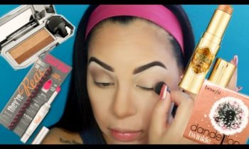 Testing out NEW Benefit Cosmetics Products | Review !