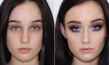 Pale Client Colourful Makeup Tutorial ♡ Jasmine Hand
