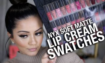 FULL NYX Soft Matte Lip Cream Swatches… ALL COLORS!!