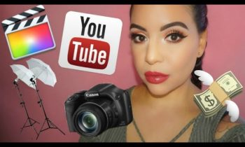 How to make a youtube channel , Making money on youtube ,lighting ,Camera , & free Products