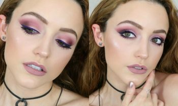 Mauve/ Purple Monochromatic Makeup Tutorial