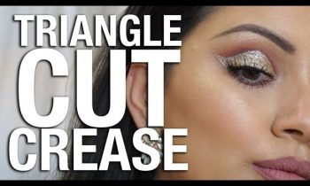 'SURPRISE' TRIANGLE CUT CREASE MAKEUP TUTORIAL