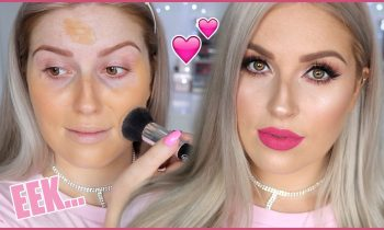 DRUGSTORE and AFFORDABLE Makeup Glam! 💘 Trying NEW Makeup