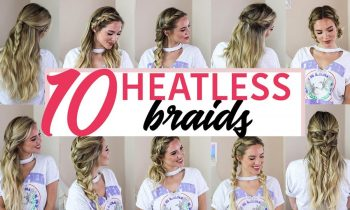 10 SUPER EASY BACK TO SCHOOL HAIRSTYLES | LUXY HAIR