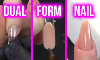 OMG!! EASIEST ACRYLIC NAIL EVER!!! – How to Use Dual Forms to Create an Acrylic Nail