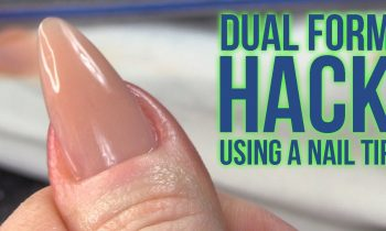 WOW!! Dual Form HACK Using A Nail Tip – No Filing Needed Underneath!!