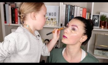 Mother's Day Makeup with Nic's Daughter | Real Techniques