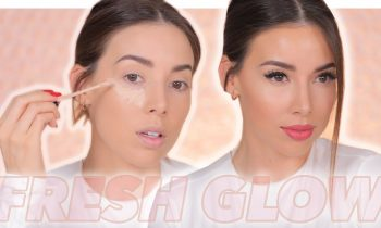 FULL FACE NO POWDER! | FLAWLESS GLOWING COMPLEXION