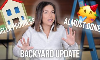 MAJOR MOVES! | BACKYARD CONSTRUCTION UPDATE