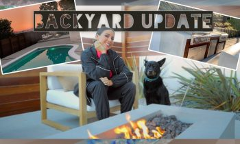 BACKYARD REMODEL IS ALMOST DONE!  CONSTRUCTION AND FURNITURE UPDATE