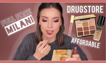 FULL FACE OF MILANI! AFFORDABLE FULL FACE TUTORIAL