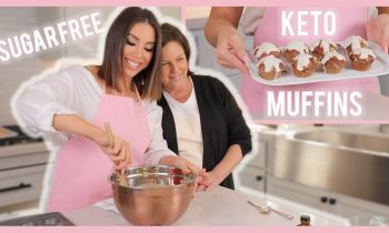 KETO CINNAMON MUFFINS | COOKING WITH CRANS