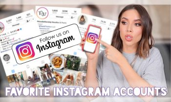 MY TOP INSTAGRAM ACCOUNTS (LIFESTYLE, FITNESS, FASHION)