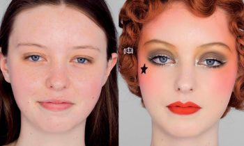 The GOLD Look – Vintage 1920's inspired Collette Marchant Makeup
