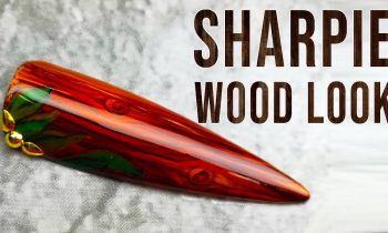 Wood Look with Sharpies