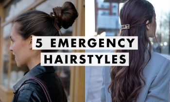 5 Emergency Hairstyles For When You Have No Time