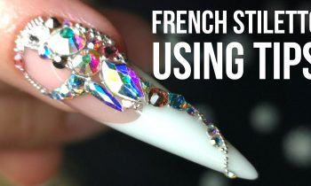 French Stiletto Nail Using A Tip – Back to Basics