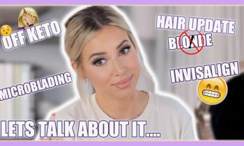 LETS GET READY | LIFE UPDATES: INVISALIGN, KETO & NO MORE PLATINUM HAIR